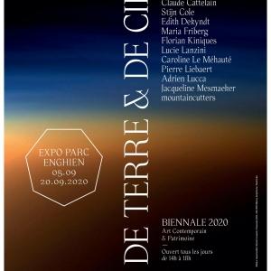 Biennale d'art contemporain du Parc d'Enghien. Exposition parcours « Miroirs 3 / De terre et de ciel »