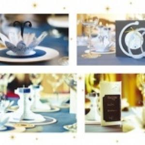 3. Decoration de la table