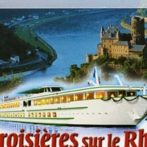 Croisiere sur le Rhin