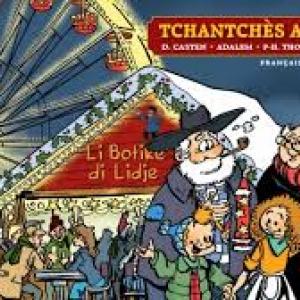 """Couverture de la BD """"Tchanchès a disparu"""" (c) François Walthéry/""""Noir Dessin"""""""