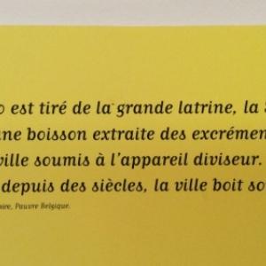 Un Texte de Baudelaire (c) Musee de la Ville de Bruxelles
