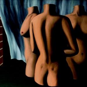 """""""Dialogue denue par le Vent"""" (Rene Magritte/1928/81 x 116 cm) (c) """"Succession René Magritte"""" / """"SABAM Belgique 2019"""""""