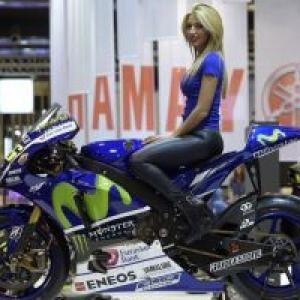 """En Moto de Vitesse chez (c) """"Yamaha"""""""