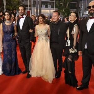 """""""La Belle et la Meute"""" : L'Equipe du Film a Cannes"""