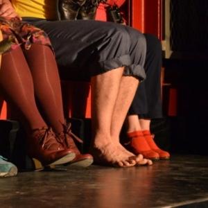 """""""Hop ! Hop ! Hop !"""", par le Theatre du Defi"""" et la troupe du """"Tap s"""" (Namur)"""