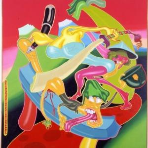 """Little Joe in Hanoi"" (1968) (c) Peter Saul/""Artist s Rights Society"", New York"