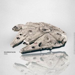 """""""Millenium"""" TM & (c) 2014 Lucasfilm Ltd."""