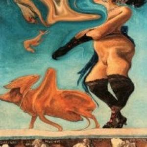 """Novissima Verba""/Jacques Charlier/2000/120 x 90 cm"