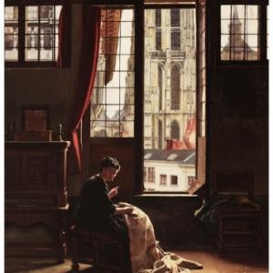 """Le Carillon"" (1874) (c) Henri De Braekeleer"