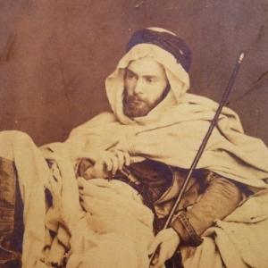 Gustave Guillaumet, photographie en Bedouin
