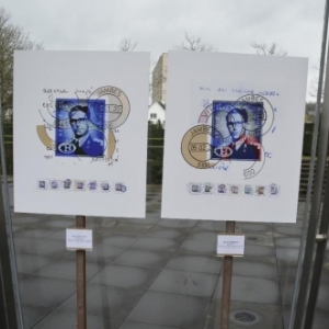 "Estampilles postales disparues, celles de Jambes (c) Bernard Boigelot/Photo : ""Syndicat d Initiative"""