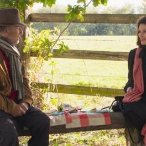 """Film de Cloture : Anouk Aimee et Jean-Louis Trintignant, dans """"Les plus belles Annees d une Vie"""" (Claude Lelouch)"""