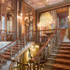 """Hotel Solvay"", de Victor Horta (1861-1947) (c) ""Explore Brussels"""