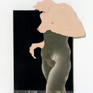 """""""L Egocentrique 2"""" (1968) (c) Evelyne Axell/""""Galerie de la Beraudiere"""""""