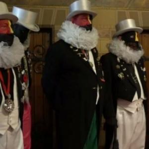 """Ce dernier mercredi 13 mars, cinq Noirauds dans la """"Salle de la Milice"""" de l Hotel de Ville"""