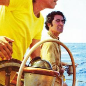 """Jacques Brel a bord de son Bateau """"Askoy"""""""