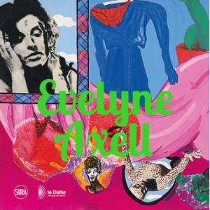"""L affiche de la presente exposition au """"Delta"""" : """"Sans Titre""""/1964/collage/Coll. Philippe Axell"""