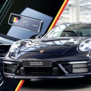 """Jacky Ickx et une """"Porsche 911 Type 22"""" de la """"Belgian Legend Edition"""", pour ses 75 ans"""