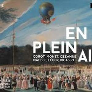 """L'Ascension d'une Montgolfiere a Aranjuez"" (Antonio Carnicero Mancio)"