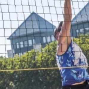 """Beach Volley, Rive gauche (c) """"Bruxelles-les-Bains"""""""
