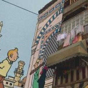 """""""Sur les Traces de Tintin"""" (c) Herge-Moulinsart 2017"""