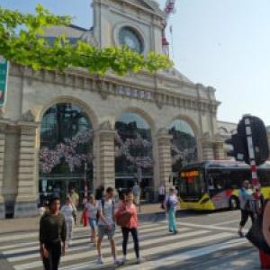 "Gare Fleurie (c) ""Namur Tourisme"""