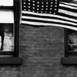 """Parade""/Hoboken (c) Robert Frank/""MacGill Gallery""/""Maison Europeenne de la Photographie"""