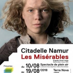 """""""Les Misérables"""", Citadelle de Namur, du 10 au 19 Août"""
