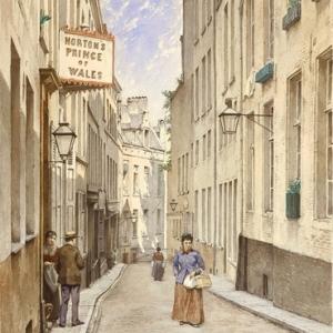 """La Rue Villa Hermosa""/Jacques Carabain (c) Musee de la Ville de Bruxelles"