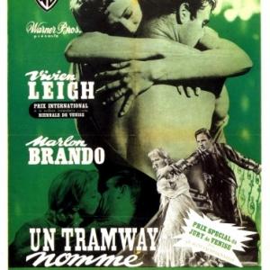 "L affiche, en 1951, lors de sa sortie, auto-censuree par la ""Warner Bros"""
