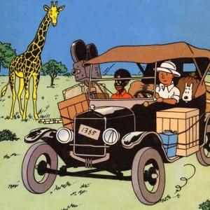 """Tintin au Congo"" (c) ""Herge-Moulinsart"" 2018"