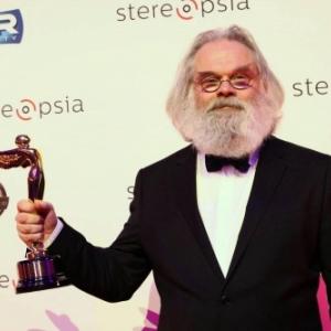 "Kommer Kleijn, Laureat d un ""Lumiere Award"", a Bruxelles, en 2017"