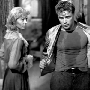 "Marlon Brando, symbole sexuel virilise, et Vivien Leigh, en 1951, dans ""Un Tramway nomme Desir"""