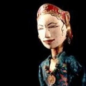 """Marionnette du """"Wayang Golek"""""""