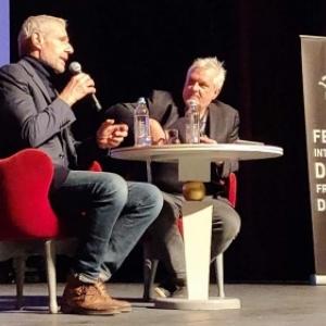 """Le """"Coup cde Coeur"""" Lambert Wilson et Eric Russon, au """"Theatre de Namur"""" (c) """"La Nouvelle Gazette"""""""