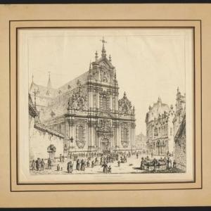 """""""Beguinage Brussels""""/John Coney (c) Musee de la Ville de Bruxelles"""