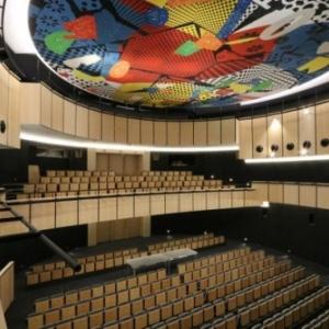 La grande salle, son balcon et sa fresque (c) DR/SAMYN/Province de Namur/Veronesi