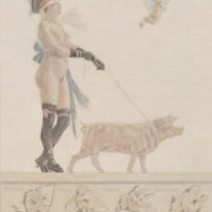 """""""Pornocrates""""/Eugene Gaujean/1887/23,6 x 18 cm"""