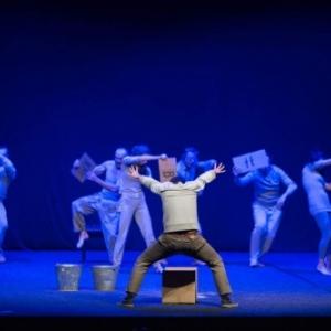 """""""Histoires sorties d une Boite"""", par le """"Theater Zerkalo""""  (Khmelnitsky/Ukraine)"""