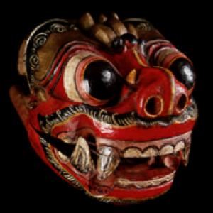 "Masque du ""Wayang Topeng"""