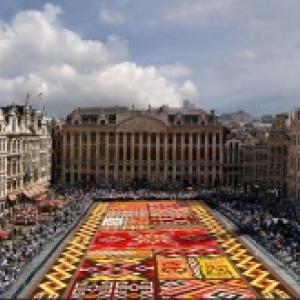 20ème « Tapis de Fleurs » de la Grand' Place