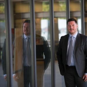 """David Dannevoye, le nouveau Consul honoraire de France, a Namur (c) """"L'Avenir"""""""