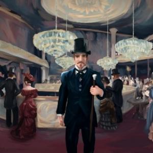 """Un Bar aux Folies-Bergeres"" (Gabrielle Lissot) (c) ""Iko"" & ""Arte France"""