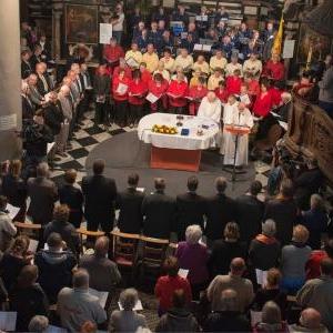 A la Messe en wallon
