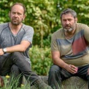 Olivier Gourmet et Sergi Lopez