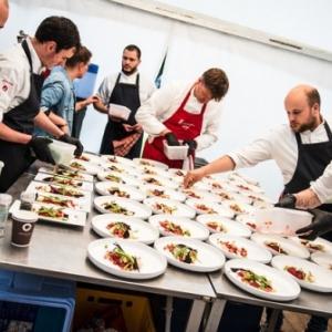 """Une fete de la gastronomie concoctee par de nombreux Chefs (c) """"Epicuriales"""""""