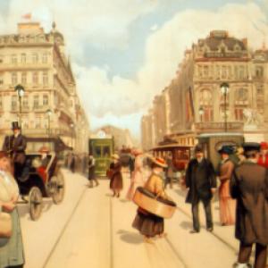 """""""Place de Brouckere on voyait l omnibus..."""" (c) Jacques Brel"""