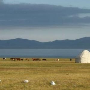 """Sur la """"Route de la Soie"""", au Kirgizistan"""