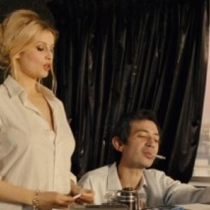 "Laticia Casta et Eric Elmosnino, dans ""Gainsbourg"" (Vie heroique) » (Joann Sfar)"