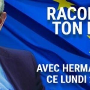 Débat avec Herman Van Rompuy, à Namur, ce 20 Février